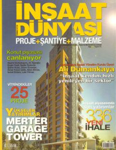 inşaat dünyasıtemmuz 2010 kapak