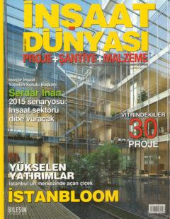 inşaat dünyası mart 2011 kapak