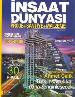 inşaat dünyası nisan 2011 kapak