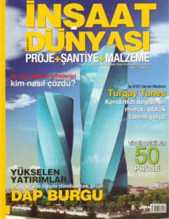 inşaat dünyası mayıs 2011 kapak